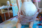 yuliya adult baby girls in diapers