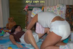 girls wearing diapers pic pics