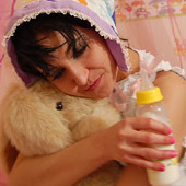 LADIES WOMEN IN DIAPERS ABDL