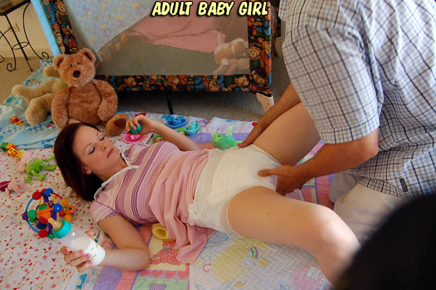 Adult babies plastic fetish