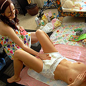 teen girls diapered in diapers video